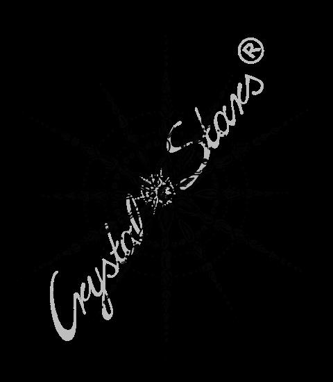 Kristall Liebe Love handgezeichnet