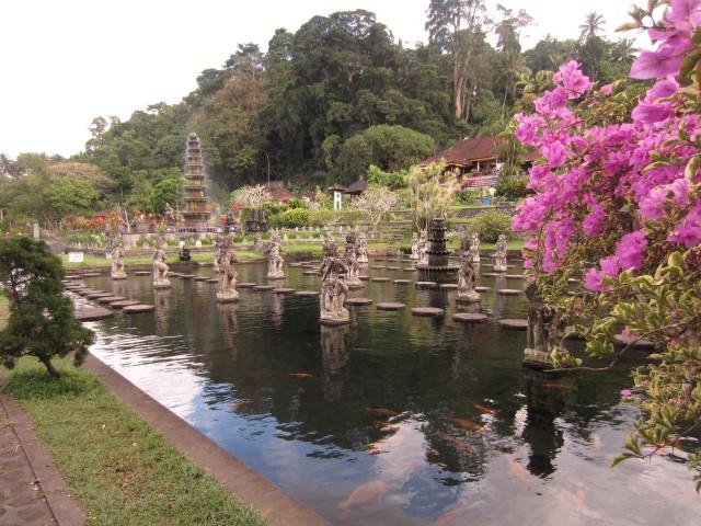 Garten in Indonesien